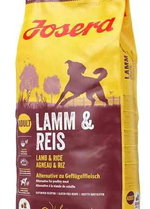 Josera Lamb&Rice Йозера Лемб/Райс корм для собак 15 кг