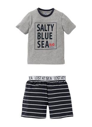 Стильная пижама/ костюм  детский для мальчиков Pepperts 158/164