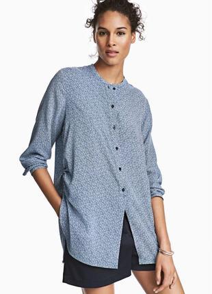 Блузка с кулисками от h&m