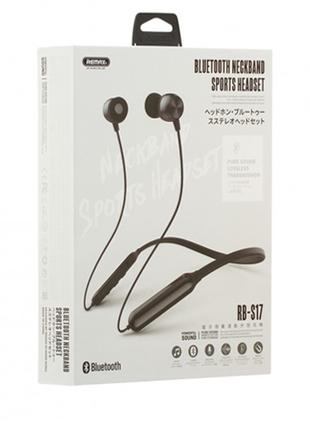 Наушники Bluetooth Remax RB-S17