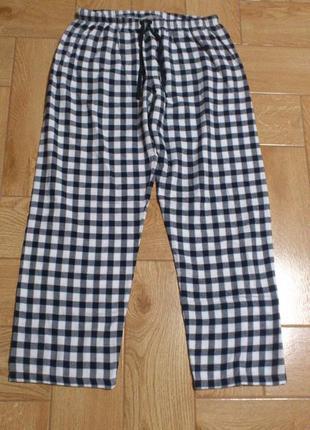 Хлопковые бавовняні женские жіночі пижамные піжамні брюки штан...