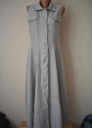 Стильное льняное платье oasis