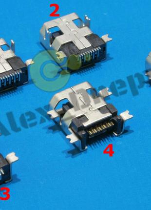 Разъём Mini USB 10 pin (6 видов)