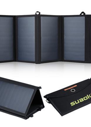 Солнечная панель, универсальное зарядное устройство Suaoki 25W