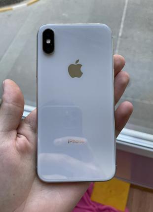 IPhone X 64 гб белый
