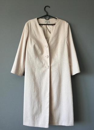 Стильное легкое пальто country casuals 16--52 размер.