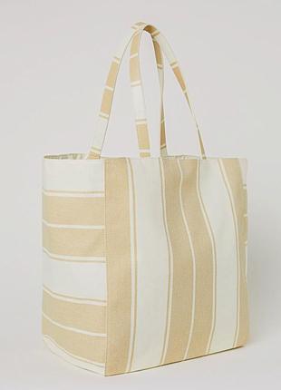 Текстильная сумка от h&m