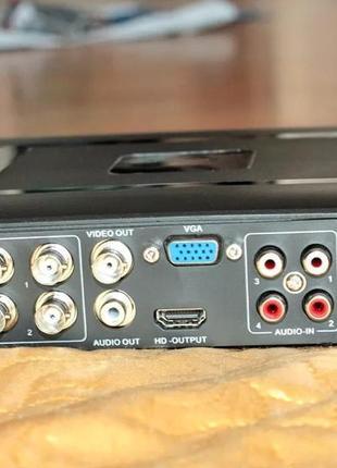 8-канальный аналогово-цифровой видеорегистратор