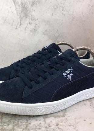 Кроссовки puma clyde mij made in japan /suede basket smash cou...