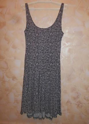 Джерси платье от h&m