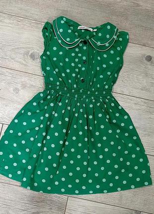 Распродажа! 1+1=3! платье в горошек