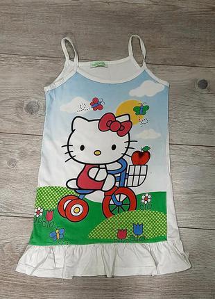 Распродажа! 1+1=3! платье сарафан hello kitty