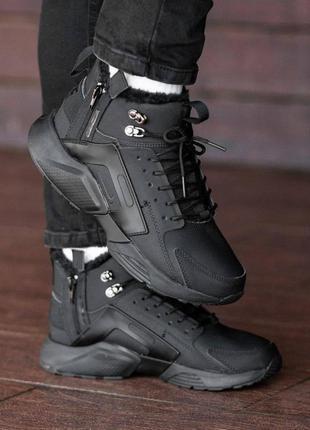 Топовые зимние кроссовки на меху  huarache acronym