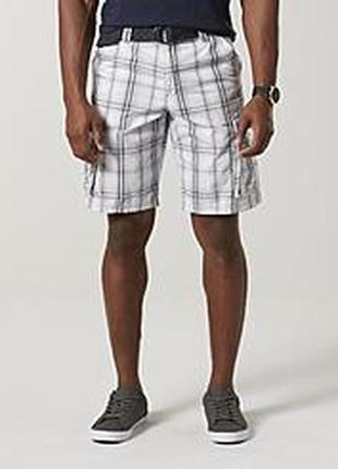 Мужские хлопковые шорты с карманами  карго lee 50-52/ xl