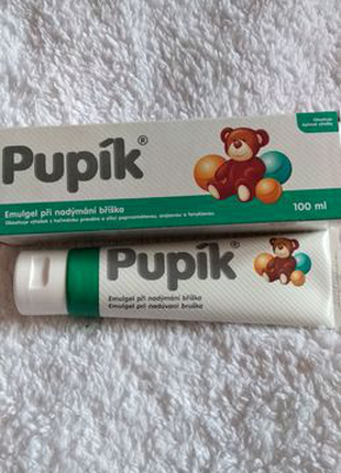 Дитячий крем-гель від коліків Pupik