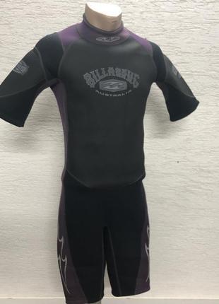 Неопреновый костюм BILLABONG короткий для дайвинга