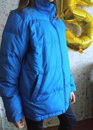 Куртка цвета июльского неба