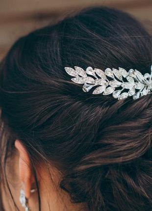 Свадебный гребень для волос, свадебное украшение, КИЕВ