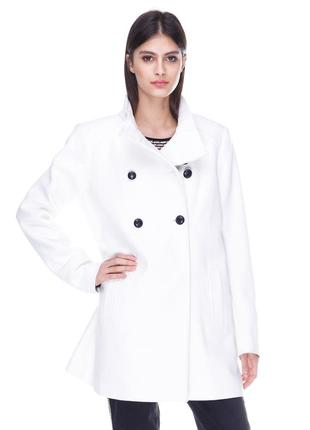 Пальто с воротником стойкой от gdm