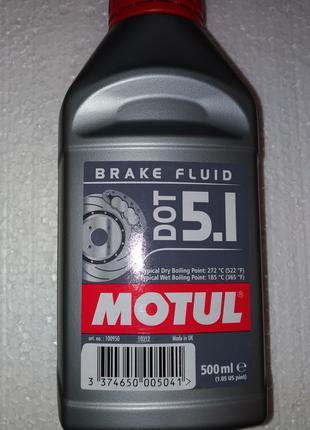 Motul DOT 5.1 Brake Fluid (0,5 л)