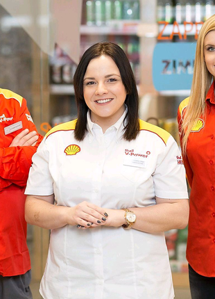 Shell: кассир-продавец на АЗС