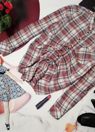 Рубашка-туника falmer heritage, хлопок, размер 14