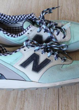 New balance 996 бирюзовые женские кроссовки