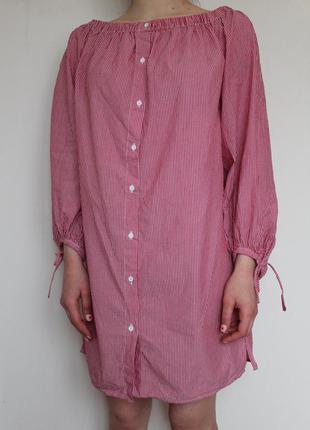 Платье рубашка new look со спущенными плечами