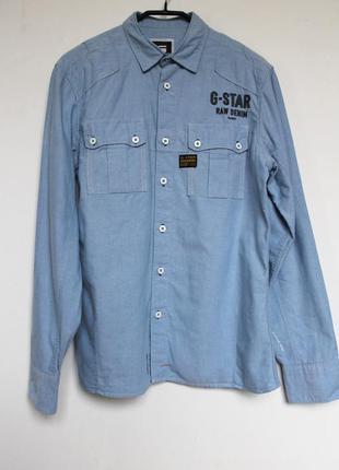 G-star raw рубашка мужская