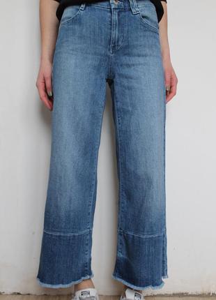 Guess кюлоты укороченные джинсы клеш