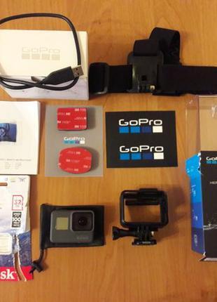 Gopro 6 black ідеальний стан! ( gopro 7 8, sony FDR, SJCAM, Xi...