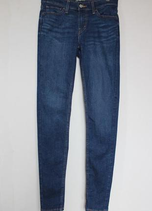 Levis зауженные джинсы скинни с завышенной талией высокой поса...
