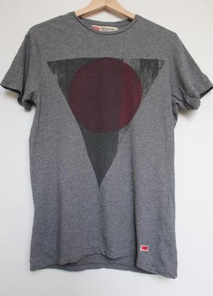 Levis мужская футболка серая