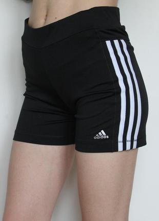 Adidas спортивные шорты с высокой посадкой