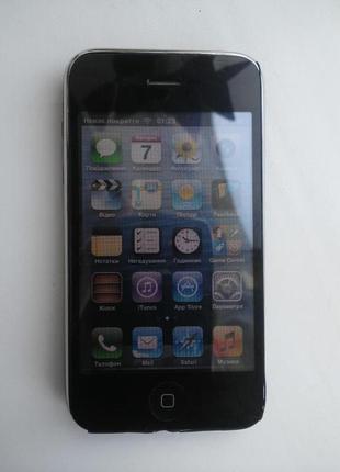 Дисплейний модуль Apple iPhone 3GS(A1303) тач+дисплей чорний
