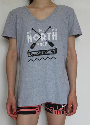 The north face женская футболка
