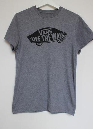 Vans мужская серая футболка оригинал
