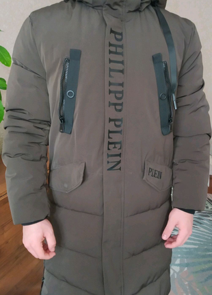 куртка , парка удлиненная мужская до -25