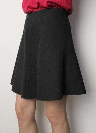 Zara короткая юбка солнцеклеш