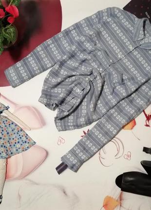 Рубашка marks&spencer, 100% хлопок, размер 12/40