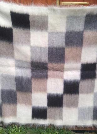 Лижнык Карпатский 2 спальный, шерстяное одеяло (покрывало)