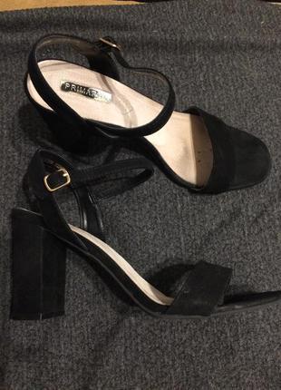 Primark замшевые сандали босоножки
