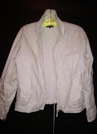Lee cooper куртка ветровка базовая укороченная, котоновая/// м...