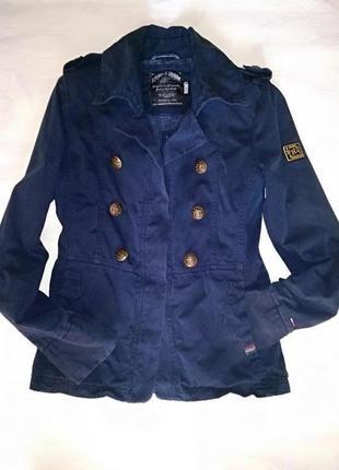 Tommy hilfiger классная  куртка в стиле милитари ///много инте...