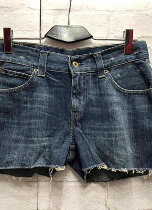 Винтажные джинсовые шорты  levis (2166)