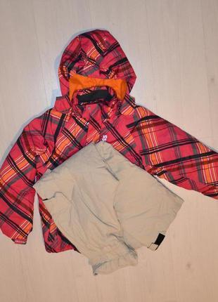 Лыжный костюм, комбинезон лыжная куртка и штаны рост 134-140 см