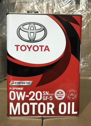 Toyota 0W20 Motor Oil 4L