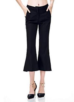 New look & petite актуальные брюки бриджи с волонами