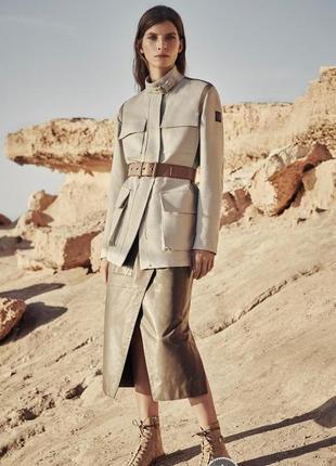 H&m стильный брендовый пиджак, блейзер в стиле милитари/// мно...