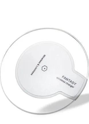 Беспроводное зарядное устройство Wireless белый